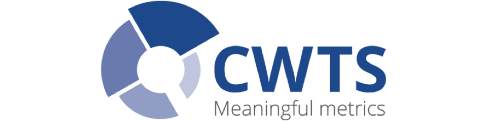 Centre for Science and Technology Studies (CWTS), Leiden University logo