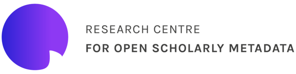 Research Centre for Open Scholarly Metadata, University of Bologna logo