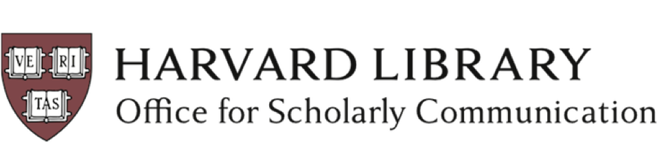 Harvard Office for Scholarly Communication logo